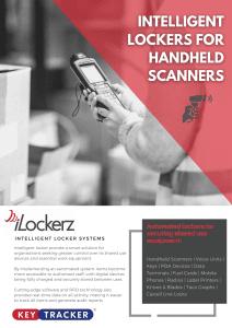 Handheld scanners management intelligent locker system iLockerz ecolockerz Keytracker