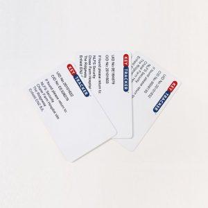 Printed Swipe Cards