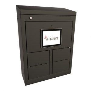 ECO Electronic KeyLockerz black locker