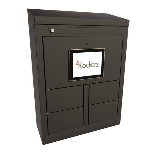 ECO Electronic KeyLockerz black locker