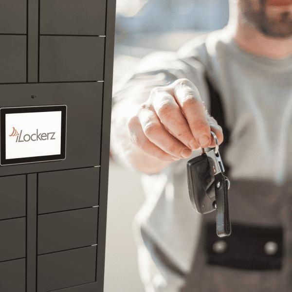 Keytracker iLockerz key drop-off and collection KeyLockerz