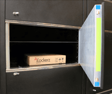 package drop-off and collection locker