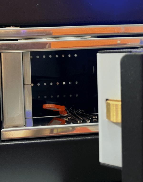Keys in a safe